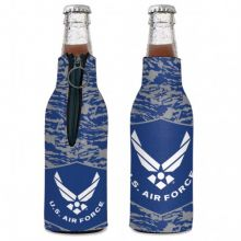 United States Air Force 12 ounce Bottle Hugger Koozie Cooler