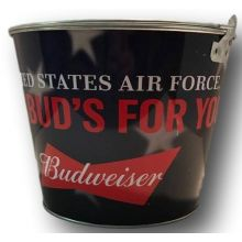 United States Air Force Budweiser Beer Bucket