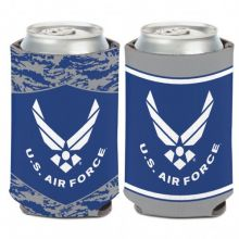 United States Air Force 2 Sided 12oz Can Cooler