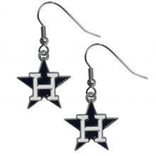 Houston Astros Logo Dangle Earrings