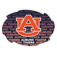 "Auburn Tigers 5"" x 6"" Repeating Design Swirl Magnet"