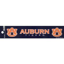 """Auburn Tigers 2"""" X 10"""" Bumper Sticker"""