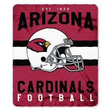 "Arizona Cardinals 50"" x 60"" Singular Fleece Throw Blanket"