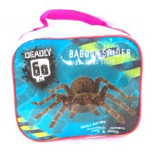 Deadly Baboon Spider Soft Sided Lunch Box