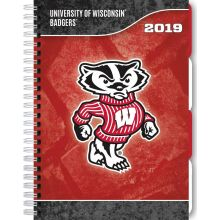 Wisconsin Badgers 2019 Tabbed Planner Personal Organizer
