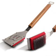 Wisconsin Badgers Grill Brush