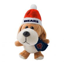 Chicago Bears 4 inch Plush Dog Ornament