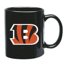 Cincinnati Bengals 15 oz Black Ceramic Coffee Cup