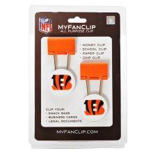 Cincinnati Bengals 2 Pack Multi Purpose Utility Clips