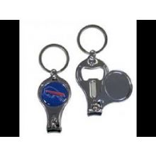 Buffalo Bills 3-in-1 Nailclipper Keychain