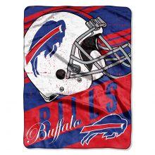 "Buffalo Bills  46"" x 60"" Deep Slant Super Plush Throw Blanket"