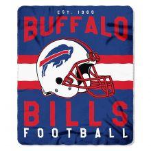 "Buffalo Bills 50"" x 60"" Singular Fleece Throw Blanket"
