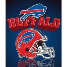 "Buffalo Bills 50"" x 60"" Gridiron Fleece Throw Blanket"