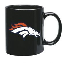 Denver Broncos 15 oz Black Ceramic Coffee Cup