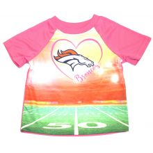 Denver Broncos  Infant Girls Stadium T-Shirt 12 Months
