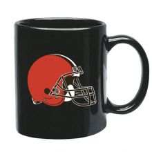 Cleveland Browns 15 oz Black Ceramic Coffee Cup