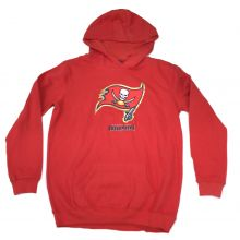 Tampa Bay Buccaneers Youth Reflective Gold  Trim  Hoodie Large 14-16
