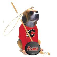 Calgary Flames Beagle Team Dog Ornament