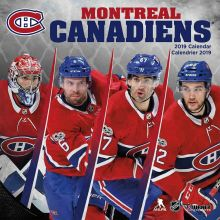 Montreal Canadiens 12 x 12 Wall Calendar