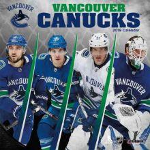 Vancouver Canucks 12 x 12 Wall Calendar