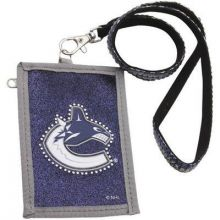 Vancouver Canucks Beaded Lanyard I.D. Wallet