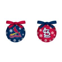 St. Louis LED Ball Ornaments Set of 2
