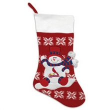 "St. Louis Cardinals 22"" Argyle Christmas Stocking"