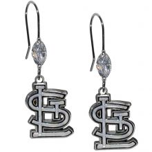 St. Louis Cardinals Crystal Dangle Earrings