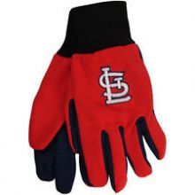 St. Louis Cardinals Children's Logo Utility Gloves