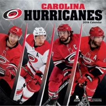 Carolina Hurricanes 12 x 12 Wall Calendar 2019