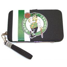 "Boston Celtics Distressed Wallet Wristlet Case (3.5"" X .5"" X 6"")"