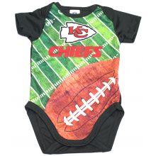 Kansas City Chiefs  Infant Field Bodysuit 0-3 Months