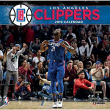 Los Angeles Clippers 12 x 12 Wall Calendar 2019