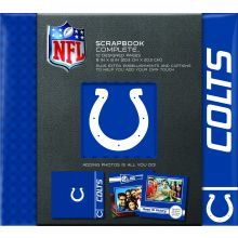 "Indianapolis Colts 8"" X 8"" Complete Scrapbook"