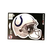 "Indianapolis Colts 6"" Helmet Die-Cut Window Decal"