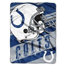 "Indianapolis Colts  46"" x 60"" Deep Slant Super Plush Throw Blanket"