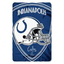 "Indianapolis Colts  40"" x 60"" Shield Fleece Throw Blanket"