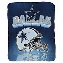 """Dallas Cowboys  50"""" x 60"""" Gridiron Fleece Throw Blanket"""