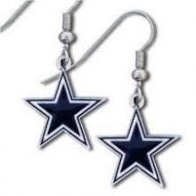 Dallas Cowboys Logo Dangle Earrings