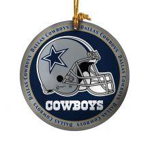 Dallas Cowboys Ceramic Mini Plate Ornament