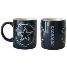 Dallas Cowboys 2 Pack Ceramic Warm Up Mug Set