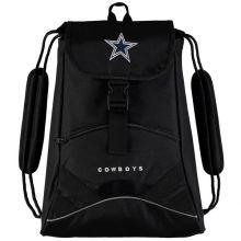 Dallas Cowboys Black Static Drawstring Backpack