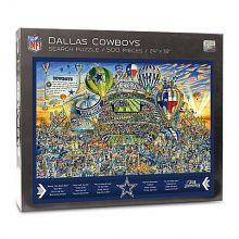 Dallas Cowboys Joe Journeyman Search Adventure 500 Piece Puzzle