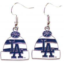 Los Angeles Dodgers Beanie Dangle Earrings