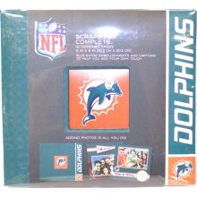 "Miami Dolphins 8"" X 8"" Complete Scrapbook"
