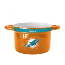 Miami Dolphins 23-Ounce Sculpted Gametime Bowl