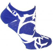 Duke Blue Devils No Show Repeater Socks L/XL