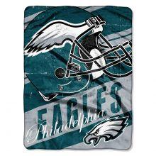 "Philadelphia Eagles  46"" x 60"" Deep Slant Super Plush Throw Blanket"