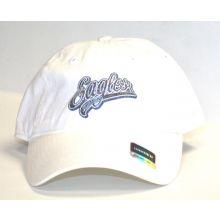 Philadelphia Eagles Women's White Slouch Adjustable Hat