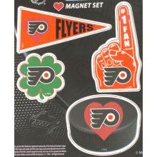 Philadelphia Flyers 4 Piece Magnet Set